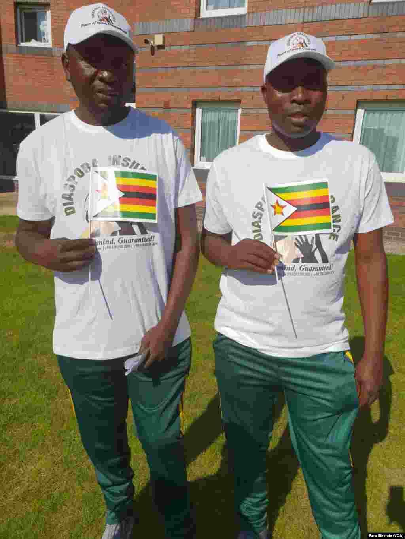 Gems Technical Coach Loyd Makunde and his assistant Ropafadzwa Mutsauti