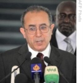 AU Peace and Security Council Chair Ramtane Lamamra