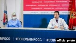 Konferencija za novinare Instituta za javno zdravlje Crne Gore (Foto: PR Centar, rtcg.me)