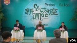 中國全國記協舉行中外記者茶座會,就自焚、外媒記者進藏等問題展開討論。