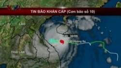 Typhoon Wutip Hits Vietnam; 74 Chinese Fishermen Missing in South China Sea