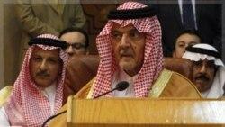 سعود الفیصل وزیر امور خارجه عربستان سعودی