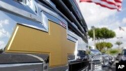 Logo Chevrolet di Miami Lakes AutoMall di Miami Lakes, Florida. (Foto:dok)