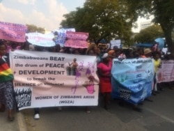 Report on WOZA Demonstration Filed By Taurai Shava