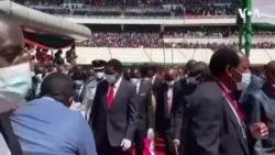 Thousands Attend Inauguration of New Zambia President
