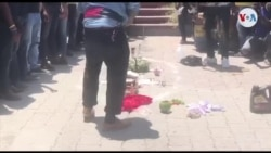 Ayiti: Seremoni Vodou sou Plas Desalin sou Chandmas Kont Masak nan Lasalin