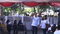 Pelaksanaan Pemilu Indonesia 2014 di Jakarta