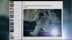 رکورد متقاضیان فضانوردی به ناسا شکست