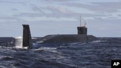 俄羅斯新型潛艇(資料圖片)