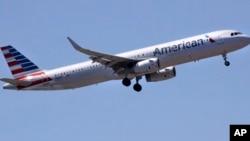 Yon Avyon Liy Ayeryen American Airlines. (Foto: AP/Charles Knuppa).