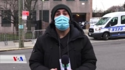 کردنەوەی نێوەندی نوێی ڤاکسینی دژ بە کۆرۆنا لە شاری نیویۆرک