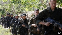 Joint U.S.-Philippines military exercise. (file)