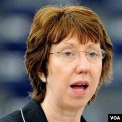 Kepala Kebijakan Luar Negeri Uni Eropa, Catherine Ashton.