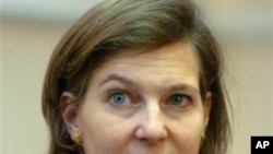 State Department Spokeswoman Victoria Nuland (file photo)