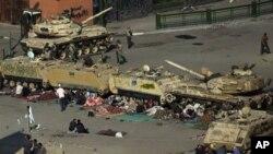 احتمال کودتای نظامی در مصر