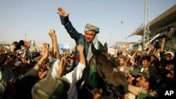 FILE - Afghanistan's Vice President General Abdul Rashid Dostum.