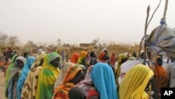 Camp for Displaced Persons in Sudan. A referendum will allow those living in southern Sudan to decide whether to remain part of the nation with religious and political autonomy or to break away and form their own nation.