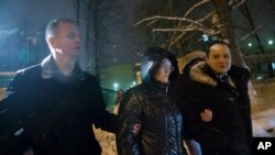 Светлана Давыдова после освобождения
