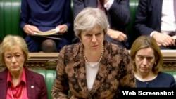 Thủ Tướng Anh tại một cuộc chất vấn trước Quốc hội