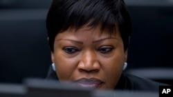 Babbar mai shigar da kara a kotun ICC da ke Hague, Fatou Bensouda