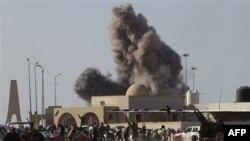 Каддафи вновь обвинил в беспорядках иностранных агентов