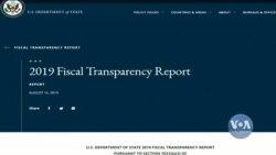 Держдеп США: Україна не відповідає мінімальним критеріям фіскальної прозорості. Відео