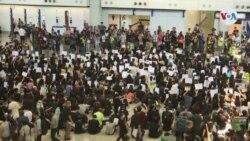 Cierran el aeropuerto de Hong Kong