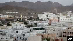 FILE - A general view of Muscat, Oman, Sept. 15, 2010.