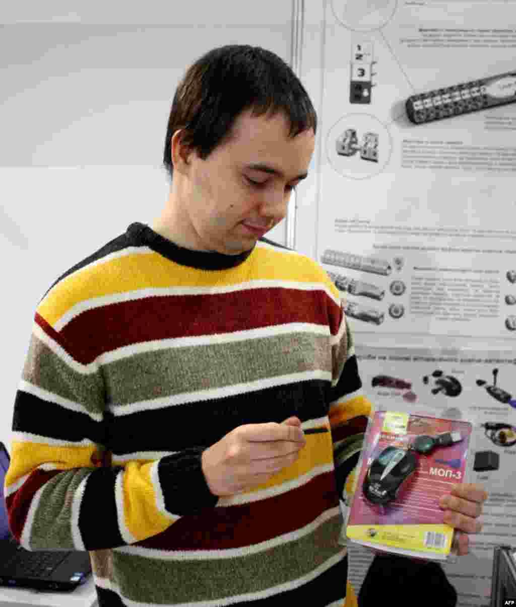 Спеціальна компютерна мишка з ключем, який зчитує та зберігає складний пароль та обмежує доступ до комп'ютерних ресурсів.
