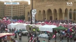 Lübnan'da Hükümet Deviren Protestolar Üçüncü Haftasında