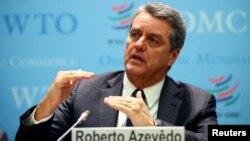 Roberto Azevedo akan mundur dari jabatan Dirjen WTO akhir Agustus mendatang (foto: dok).