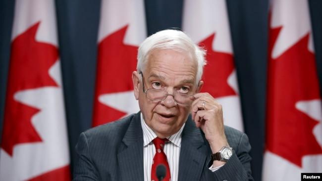 加拿大駐華大使麥家廉 (資料照片)