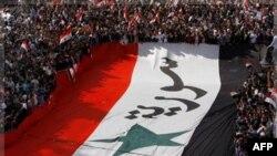 Pro-režimski demonstranti u Siriji.