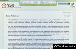 YSK'nın CHP'yle ilgili açıklamı (belgenin tamamını okumak için tıklayın)