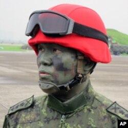 台湾陆军上校 郭俊德
