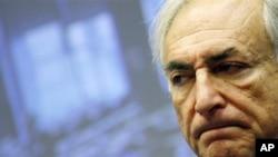 国际货币基金组织总裁施特劳斯-卡恩