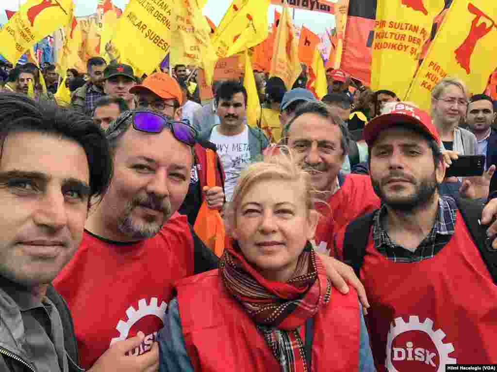 May 1 Rally Istanbul, Turkey