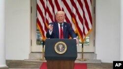 صدر ټرمپ وویل چې امریکا به انتېفا د یو ترهګر تنظیم په توګه وپېژني