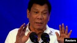 Filippin rahbari Rodrigo Duterte