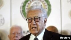 Intumwa y'Amakungu muri Syria, Lakhdar Brahimi
