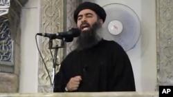 """Abu Bakar al-Baghdadi, pemimpin kelompok """"Negara Islam Irak Suriah dan Sekitarnya"""" atau ISIS (foto: dok)."""