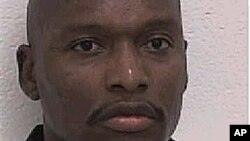 Undated image of convict Warren L. Hill, who was scheduled to be put to death on July 23, 2012.