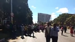 Some of the Million Man March Participants in Harare