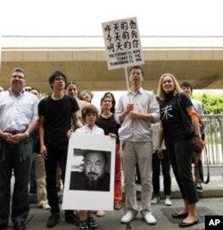 香港艺术界支持艾未未