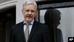 El fundador de WikiLeaks, Julian Assange, ha estado refugiado en la embajada de Ecuador en Londres desde 2012.