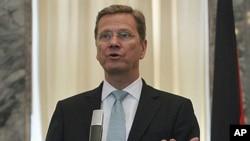 德國外交部長威斯特威勒 (資料照片)
