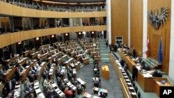 Sidang parlemen Austria di Wina (foto: dok). Parlemen Austria mengatakan kelompok peretas Turki bertanggungjawab atas serangan siber akhir pekan lalu.