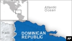 Kat jewografik Repiblik Dominikèn