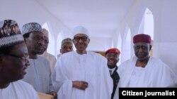 Muhammadu Buhari a effectué vendredi sa première apparition publique depuis des semaines.