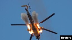 Mosul helicopter attack